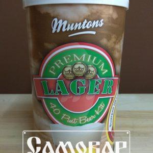 Пивной экстракт MUNTONS LAGER 1.5 КГ