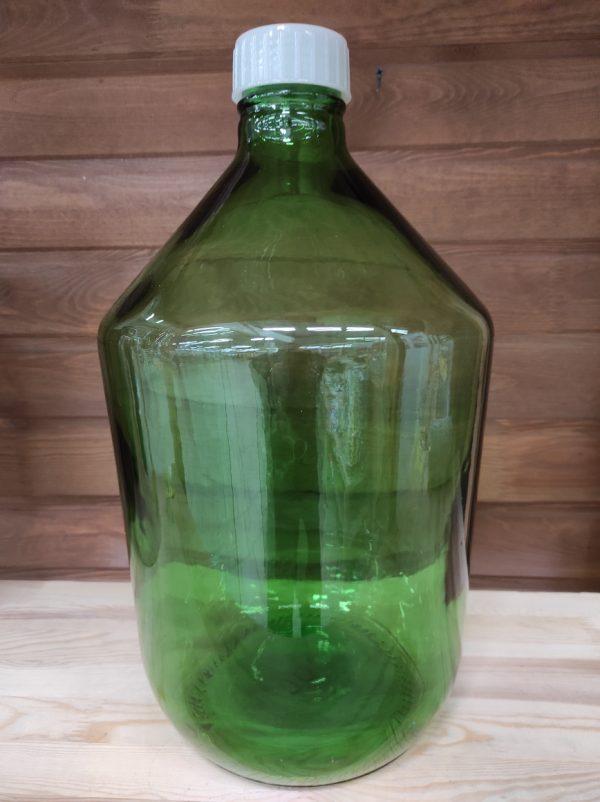 Бутыль зеленая