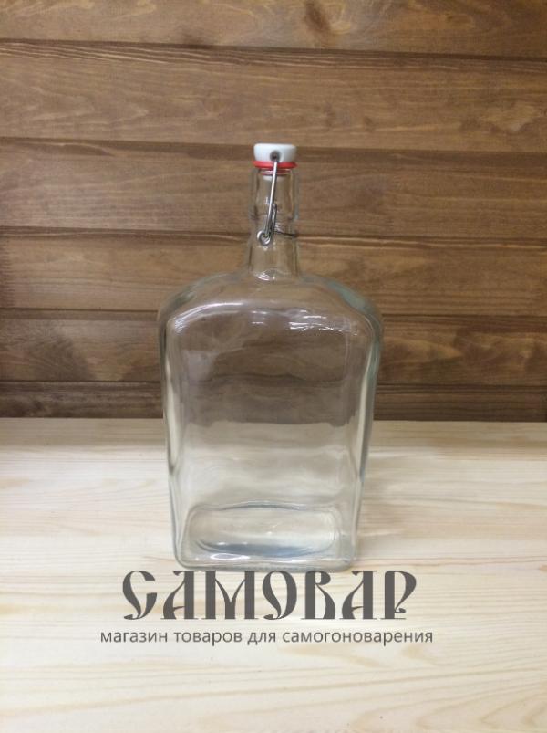 Бутыль Викинг (1,75 л) с бугельной крышкой
