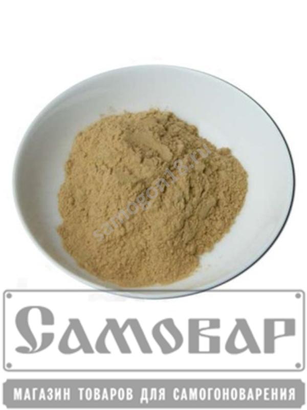 Бентонит на 25 литров браги (100 гр.)