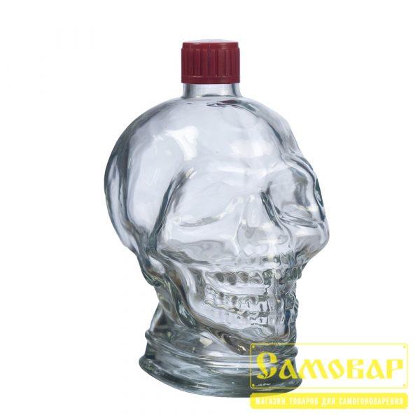 Бутыль Череп 1л