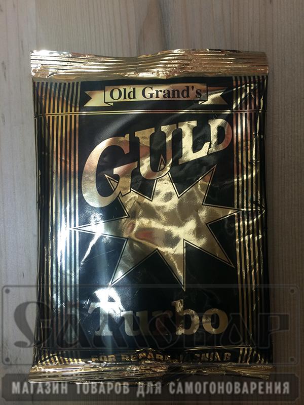 Дрожжи спиртовые активные Guld Turbo (130гр)
